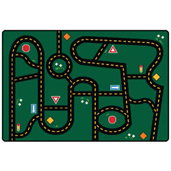 Go-Go Driving KID$ Value Rugs
