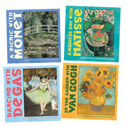 Mini Masters Board Books - Set of 4