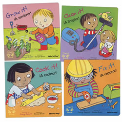 Helping Hands Bilingual Board Books - Set of 4
