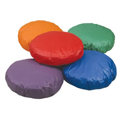 Round Soft Pillows - Set of 5