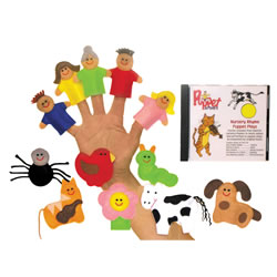 Nursery Rhyme Finger Puppet Set