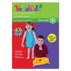 YogaKids® 3 - Silly to Calm - DVD