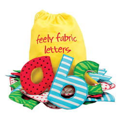 Feely Fabric Lowercase Letters
