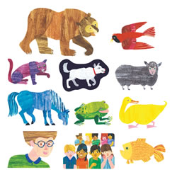 Brown Bear, Brown Bear What Do You See Felt Set - 11 Pieces