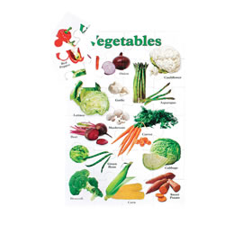 Vegetable Floor Puzzle
