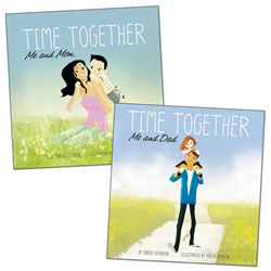 Time Together Book Set One (Set of 2) - Hardcover