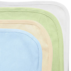 Cotton Thermal Crib Blankets - Set of 4