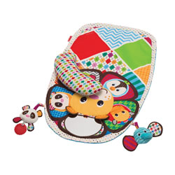 Peek & Play Tummy Time Activity Mat™