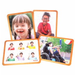 Friends Like Me Differing Abilities Puzzle Set (Set of 4)