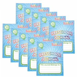 Preschool Journals - Set of 10