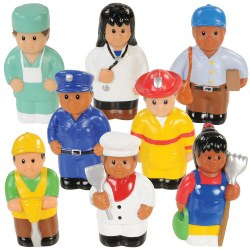 Community Workers - Set of 8