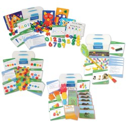 School Readiness Math Toolboxes - Set of 4