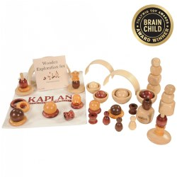 Wooden Exploration Set - 50 Pieces