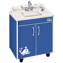 Lil' Splasher Portable Sink - Blue Splash