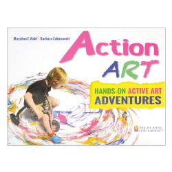 Action Art: Hands-On Active Art Adventures - Paperback