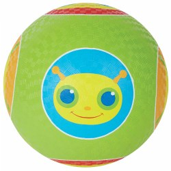 "Giddy Buggy Patterned 10"" Kickball"