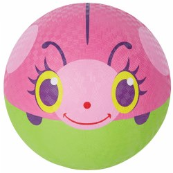 "Trixie the Ladybug Colorful 9.75"" Kickball"