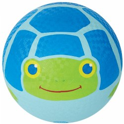 "Dilly Dally the Frog Printed 9.75"" Kickball"