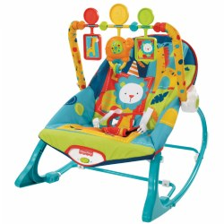 Circus Celebration Infant-to-Toddler Rocker