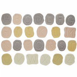 Feels-Write Uppercase Letter Stones