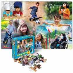 Active Kids Floor Puzzle (24 Pieces)