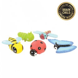 Toddler & Preschool Garden Insects - Set of 5