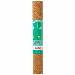 "Con-Tact® Repositionable Cork Adhesive Paper - 18""W x 4'L"
