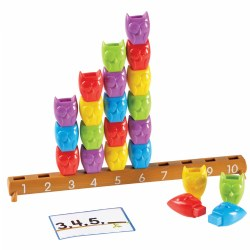 1 - 10 Counting Owls Activity Set