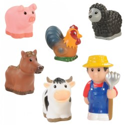 Old MacDonald's Farm Finger Puppets (Set of 6)