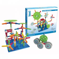 Action-Stackers™ Premium Building Set - 124 Pieces