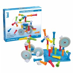 Action-Stackers™ Standard Building Set - 62 Pieces