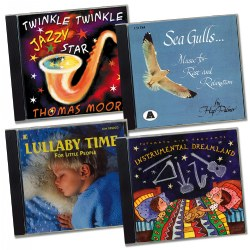 Naptime CD Set of 4