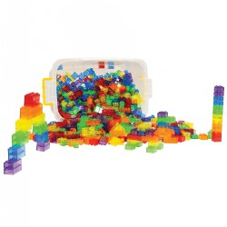 3 years & up. Sturdy, high-quality, translucent interlocking builders are perfect for engineering, architecture, construction, the light table, and fine motor play. Sets universally connects with other interlocking builders for endless creations. Includes a sturdy storage container with locking lid.