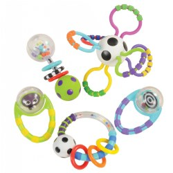 Discover & Learn Rattle Set