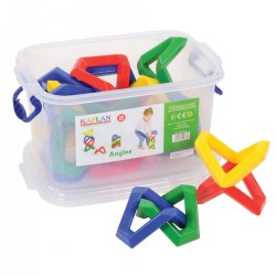 Angles Manipulative Set (20 Pieces)