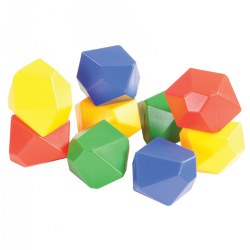 Gem Blocks Jumbo Manipulative Set - 54 Pieces