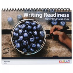 Writing Readiness: Prewriting Skills Book (16 Dry-Erase, Double-Sided Pages)