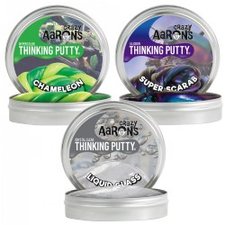 Crazy Aaron's Putty - Set of 3 Tins, 3.2 oz. each