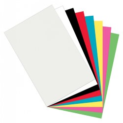 Plastic Art Sheets (Set of 8)