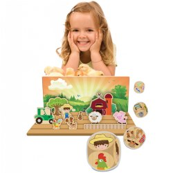 Tell-A-Tale Cooperative Board Game - Barnyard