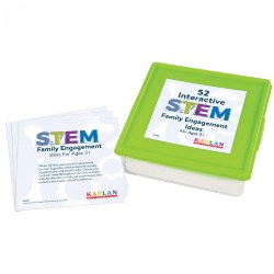 "52 STEM Family Engagement Ideas - 5"" x 5"" Activity Cards"