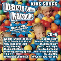 Party Tyme Karaoke: Kids Songs - CD
