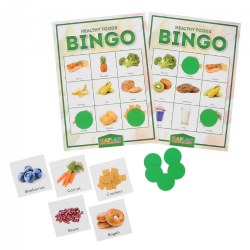 Kaplan Healthy Foods Bingo Learning Game