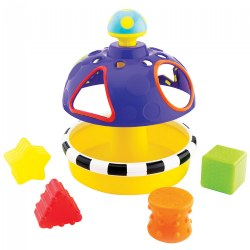 Sort & Spin Shape Sorter