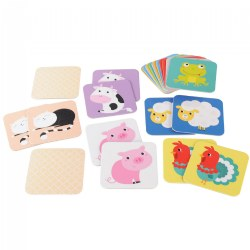 Suuuper Size Memory Game - Farm Animals - 24 Pieces