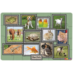 Our Pets 24 Piece Floor Puzzle