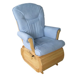 Safe and Relaxed Glider Rocker