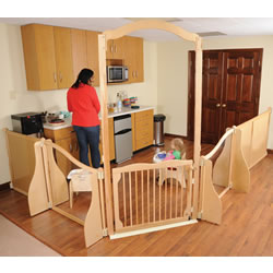 Create-A-Space™ Room Divider