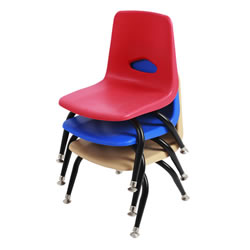 "Stackable 9 1/2"" Chairs"