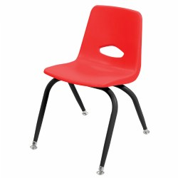 "Stackable 13 1/2"" Chair - Red - Factory Second"